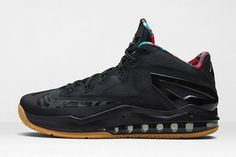 Nike Lebron 11 Low (Black Gum)