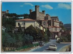 Italien - 701 - Bolsena (VT) scorcio col Castello Monaldeschi non viaggiata postcard carte postale