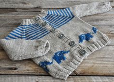 Bellyphant Baby Cardigan