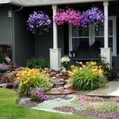 traditional landscape DIY Front Yard Makeover