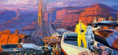 """Syd Mead ****If you're looking for more Sci Fi, Look out for Nathan Walsh's Dark Science Fiction Novel """"Pursuit of the Zodiacs."""" Launching Soon! PursuitoftheZodiacs.com****"""