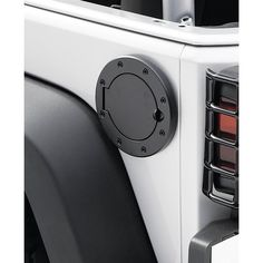Rugged Ridge Stainless Steel Gas Hatch Cover for Jeep Wrangler JK Jeep Wrangler Lights, Jeep Wrangler Camping, Jeep Wrangler Jk, Key Covers, Light Covers, Jeep Tire Cover, Hatch Cover, Jeepney, Rugged Ridge