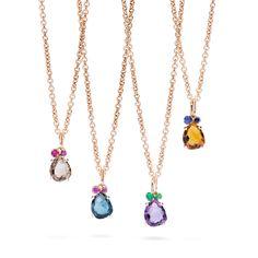 Pomellato Bahia necklaces    Pomellato