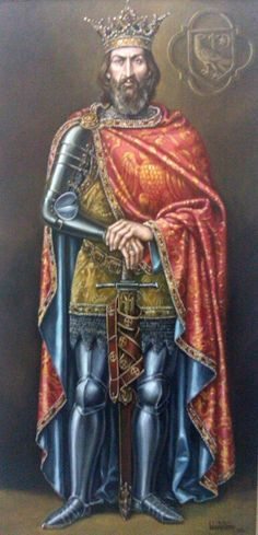 "Mircea Cel Batran ""Mircea The Elder"", 1388 - 1418, prince ""voievod"" of the medieval Southern part of Romania"