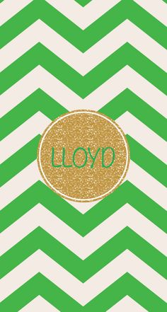 Monogram for Lloyd made by me