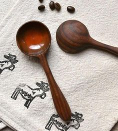 Orange Wood Coffee Scoop by April Not June on Scoutmob Shoppe