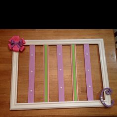 Little Girl's Bow Hanger