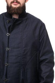 Buzz Rickson в USN Палуба Крюк куртка военно-морского флота