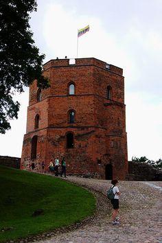 Gedimino Pilis (Gediminas Castle), part of the Vilnius Castle Complex.