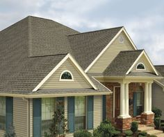 Timberline HD® Roofing Shingles, Shown Here In Slate, Provide Value And  Performance In