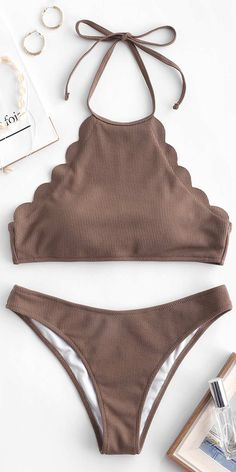 0d8d9d421c Love Chocolate halter bikini sets swimsuits Summer Bathing Suits, Summer  Suits, Cute Bikinis,