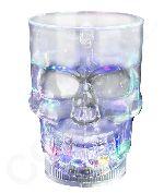 LED 14oz Liquid Activated Skull Mug - Multicolor - Coolglow.com