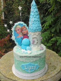 lekker zoet: Frozen voor Lizzy 4 jaar...
