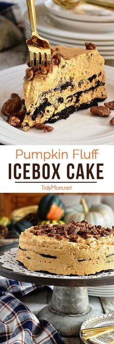Pumpkin Fluff Icebox