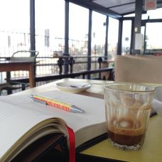 Coffee with a view at Moka East at The View Tube #London #EastLondon #Stratford #snapshots