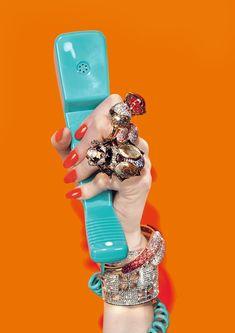 maybelline:  d-d-diamonds on the wrist.