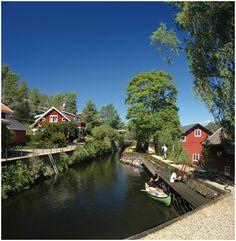 Dalsland Canal, Lennartsfors, Sweden