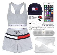 """Strictly for my TOMBOYS"" by myra-moore ❤ liked on Polyvore featuring Topshop, NIKE, Mus, Icz Stonez and Beats by Dr. Dre"