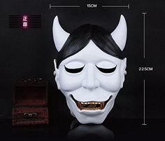 2015  Horror Resin Fox White Ghost Halloween Mask  Christmas Costume Theater GiftNovelty Party Masks for Adult Gift -- Click image to review more details.(This is an Amazon affiliate link)