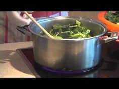 (1) Τhecook.gr - Σπανάκι με φασόλια μαυρομάτικα - YouTube