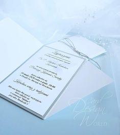 Zaproszenia Glamour, gładkie Birth Certificate, Communion, Gifts For Him, Your Child, Invitations, Organization, Personalized Items, My Love, Paper