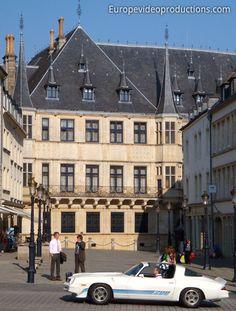 Palais Grand Ducal dans la ville de Luxembourg