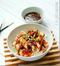 Weight Watchers Sesame Chicken & Rice