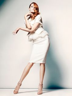 Coco Rocha in White for The Room.