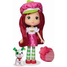 Strawberry Shortcake Doll with Pupcake - Walmart.com
