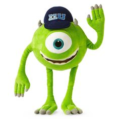 Monsters University Mike Wazowski Plush - 12-27H >>> For more information, visit image link. (This is an Amazon Affiliate link and I receive a commission for the sales)