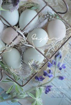 Easter〜♪シックなたまごで〜 Kawaii~♪Hunter Journal * nagoya