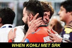 Fans react to the image of Shah Rukh Khan and Virat Kohli hugging India Cricket Team, In Vivo, Virat Kohli, Shahrukh Khan, Hot Boys, Hug, Bollywood, Stylists, Handsome