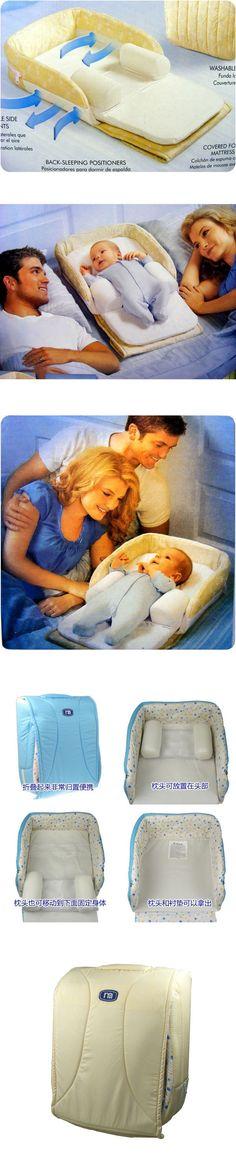 New In Box Newborn Baby Infant Snuggle Nest Travel Sleeper Crib Cot Random Color