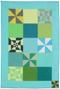 Free Quilt Pattern: Simple Pinwheel by Pam Rocco from Quilters Newsletter October/November 2014
