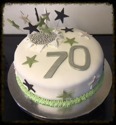 58 Best 70th Cakes Images