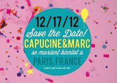 DIY - Le save the date de Pugly Pixel | Blog mariage, Mariage original, pacs, déco