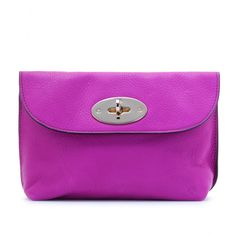 d9b4713340 Mulberry cosmetic bag Mulberry Wallet, Baggage, Cosmetic Bag, Lilac, Mauve,  Lavender