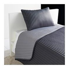 KARIT Bedspread and cushion cover - Twin/Full (Double) - IKEA