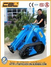MS500 520kg mini skid steel tractors with front end loader for sale