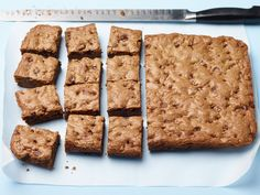 Chocolate Chip Cookie Bars : These bars offer the best of both worlds, cookie-wise: The edges are crisp and browned if you like crust, but the center cuts are extra gooey and rich.