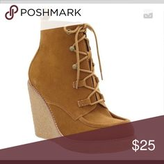ISO Gap Moccasin wedge in maple sz 8.5 Who gots em? GAP Shoes Ankle Boots & Booties