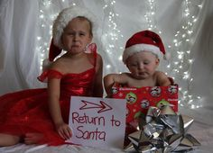 Haha would be great to do this year ...Fun Christmas photo for siblings :) haha