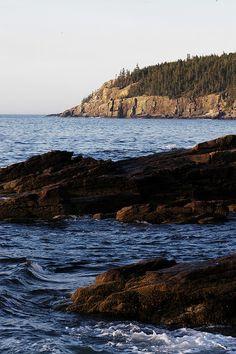 Otter Cliffs, Mt. Desert Island, Maine