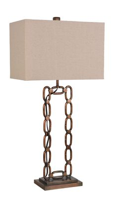LPS 155: Metal Table Lamp With Antique Gold Bronze Finish By Lamps Per Se