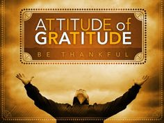 Gratitude requires awareness and effort, not only to feel it but to express it. We murmur, complain, resist, criticize; so often we are not grateful. The more we expressed gratitude, the more there was to be grateful for. Happy Clean Living