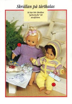 Foto: Knitting Dolls Clothes, Doll Clothes, Baby Born, Teddy Bear, Album, Crochet, Animals, Pictures, Puppets