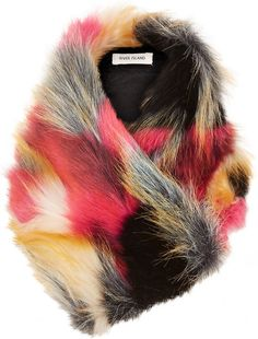 1cf609225e140  RiverIsland Fake Fur Tippet  Kids  Fashion Fake Fur