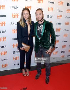 Charlotte Fisher (L) and Adam Moryto attend the TIFF Soiree during the 2016…