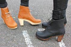 want in black.... Maguba Casablanca High Heel Clog Boots