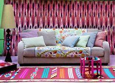 Pierre Frey Wallpaper | Pierre Frey | French Furnishing fabrics, Interior fabrics, Wallpapers ...